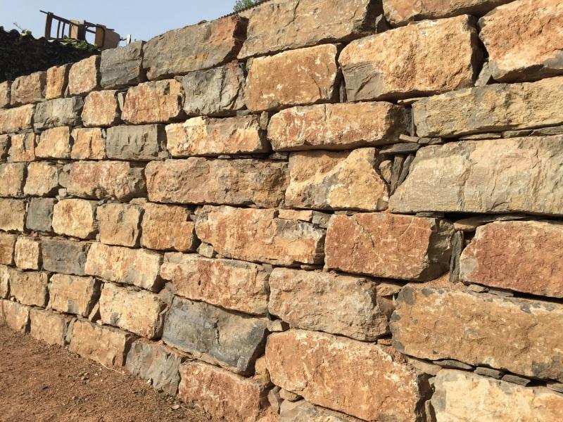 Muros de piedra natural trendy venta y colocacin de - Muros de piedra natural ...